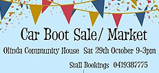October Car Boot sale