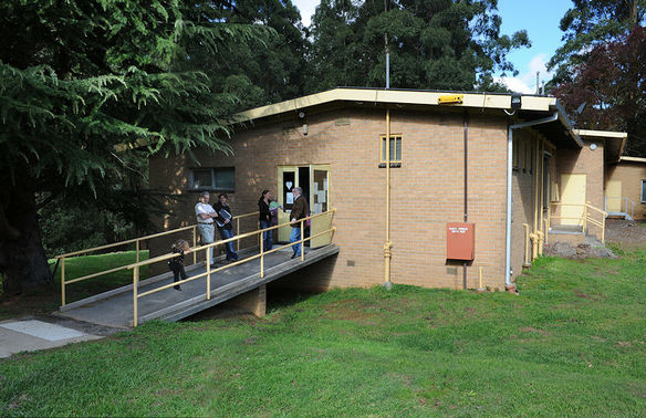 Olinda Community House enterance